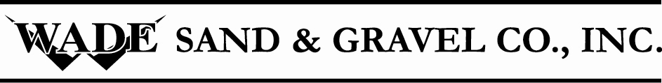 Wade Sand and Gravel logo